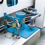 Vertical seal-less pumps, auto-fill piping and level controls with low water safety shut-off